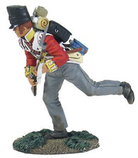 W Britain Soldier British 44th Foot Light Company Crouching Running