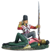 W Britain Soldier British 44th Foot Light Company Looting French Officer