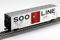Fox Valley Models FVM 30029  Soo Line Colormark 7 Post Box Car HO Scale