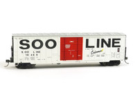 Fox Valley Models HO 30030  Soo Line Colormark 7 Post Box Car #18468