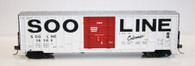 Fox Valley Models 30032 HO  Soo Line 7 Post Box Car Colormark #18562