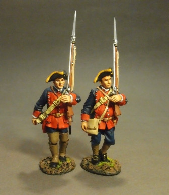 John Jenkins Designs The Raid On St. Francis 1759 The New Jersey Provincial Regiment, 2 Line Infantry Marching