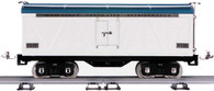 MTH Electric Trains Tinplate Traditions Standard Gauge White And Blue Reefer Car