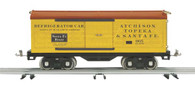 MTH Electric Trains Tinplate Traditions Standard Gauge Santa Fe Box Car
