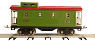 MTH Electric Trains Tinplate Traditions Standard Gauge Caboose