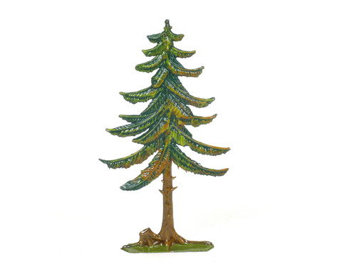 Hornung Art Trees Painted Metal Cast Medium Pine Tree 15M