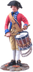 W Britain Toy Soldiers 18031 American Revolution Virginia States Garrison Drummer