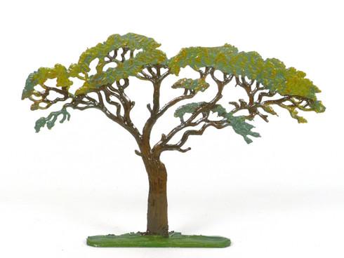 Hornung Art Accia Tree 8L Flat Hand Painted Metal Cast