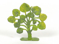 Hornung Art Small Bush 51S Flat Hand Painted Metal Cast