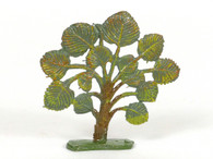 Hornung Art Small Bush 51SA Flat Hand Painted Metal Cast