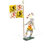 Hornung Art Heraldic Knights Conrad von Horst Banner of Berg Flagbearer #47