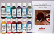 Duncan OSKIT-4 Acrylic Paint Set, 12 Best Selling Colors in 2 Ounce Bottles