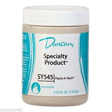 Duncan SY 545 Patch Attach Ceramic & Greenware Mender 4 Oz Jar -Fires to Cone 04