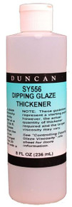 Duncan SY556 Specialty Product - Dipping Glaze Thickener, 8 oz