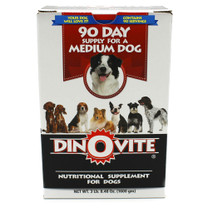 Dinovite specializes in dog nutrition and manufacturers dog supplements and vitamins that are designed to reduce shedding and relieve itching.