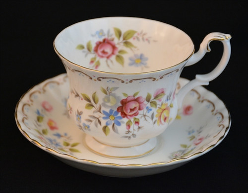 Royal Albert Jubilee Rose Teacup and Saucer