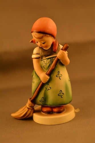 "Hummel ""Little Sweeper"" Goebel figurine."