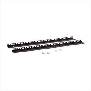 15U Wall Mount Vertical Rail Kit