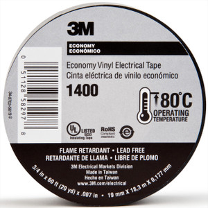 Black Electrical Tape 60'