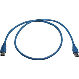 USB 3.0 A Male to A Female Cable 6'