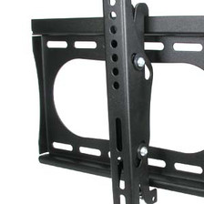 side view of tilting tv mount