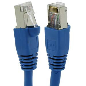 Cat6a Shielded Patch Cable 100'