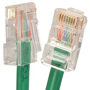 1' Green Cat5e Patch Cable
