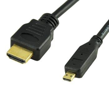 HDMI to HDMI Micro 3'