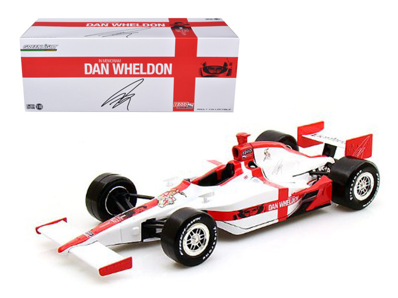 "2011 Dan Wheldon \R.I.P. Lionheart"" Tribute Indy Car 1/18 Diecast Model Car by Greenlight"""""""