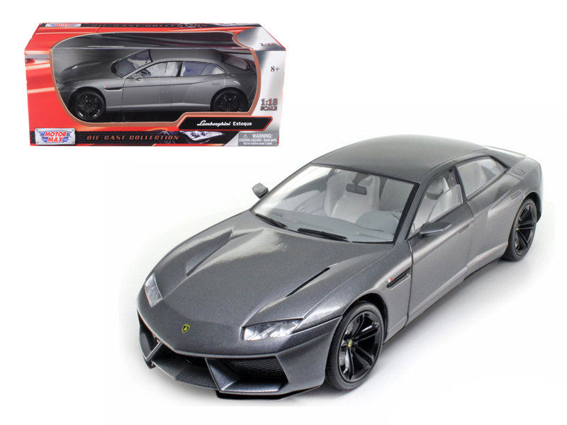 Lamborghini Estoque Gray 1/18 Diecast Model Car Motormax 79157