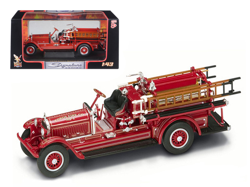 1924 Stutz Model C Fire Engine Red 1/43 Diecast Model Car Road Signature 43006