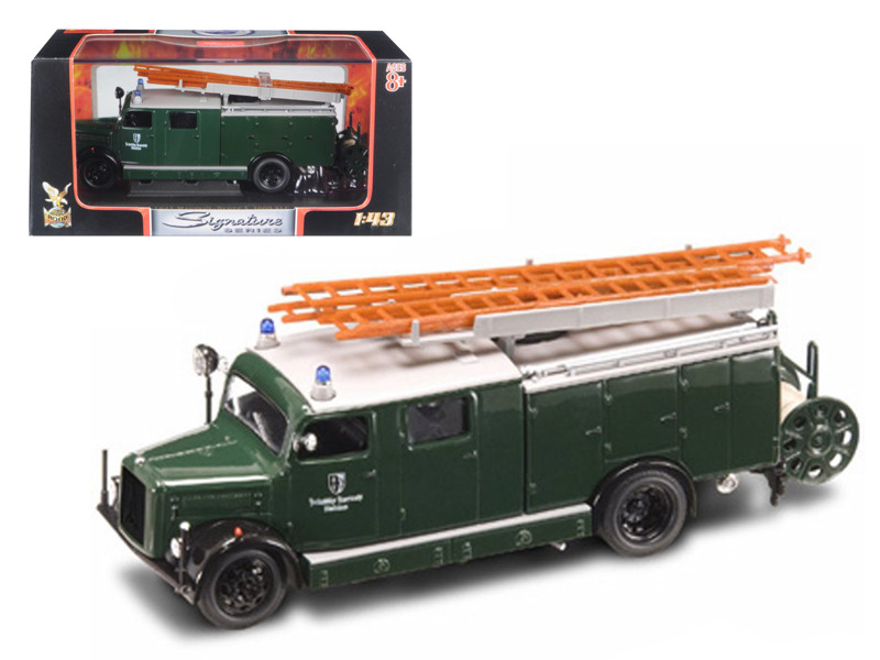 1941 Magirus Deutz S 3000 SLG Green 1/43 Diecast Car Road Signature 43014