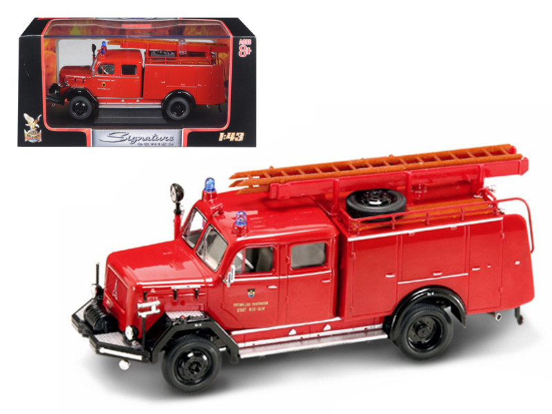 1964 Magirus Deutz 150 D 10 F TLF-16 Fire Engine 1/43 Diecast Car Road Signature 43015