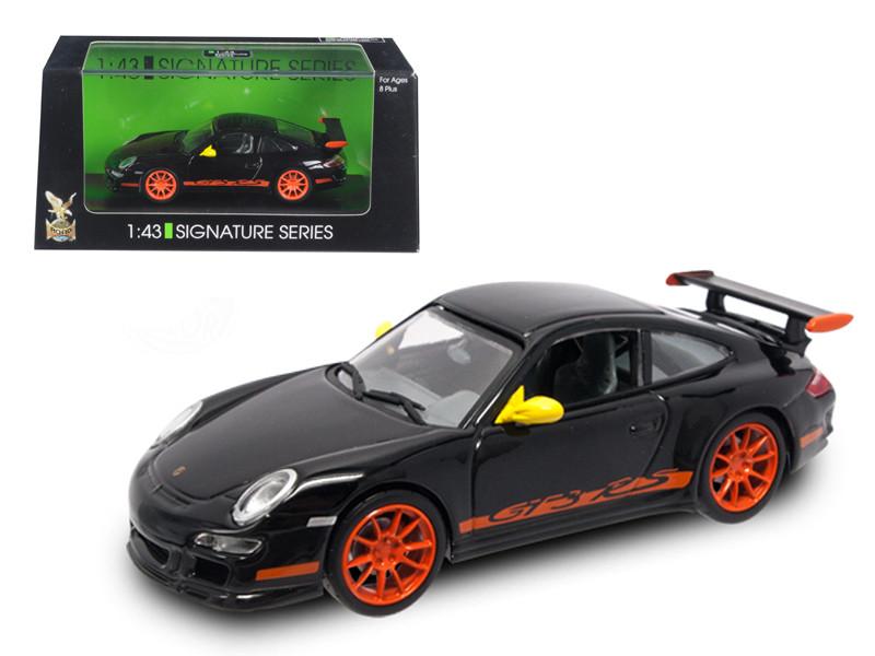 Porsche 911 997 GT3 RS Black 1/43 Diecast Model Car Road Signature 43204