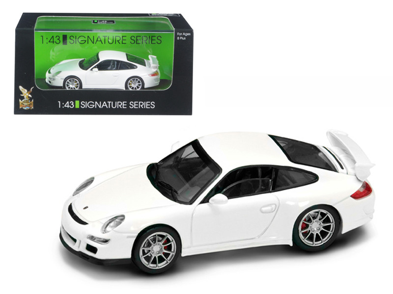Porsche 911 997 GT3 White Signature Series 1/43 Diecast Model Car Road Signature 43205