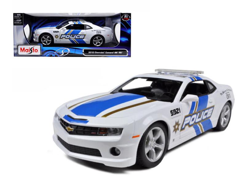2010 Chevrolet Camaro RS SS Police 1/18 Diecast Model Car Maisto 31161