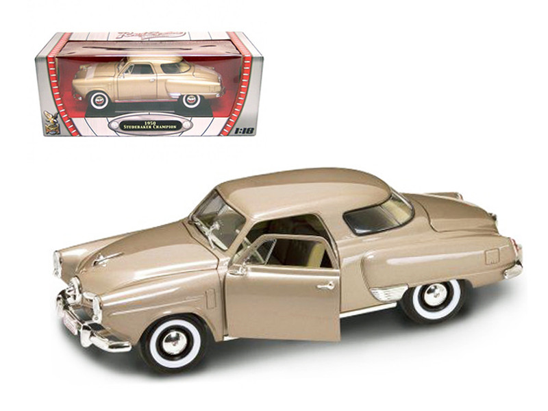 1950 Studebaker Champion Golden Tan 1/18 Diecast Model Car Road Signature 92478