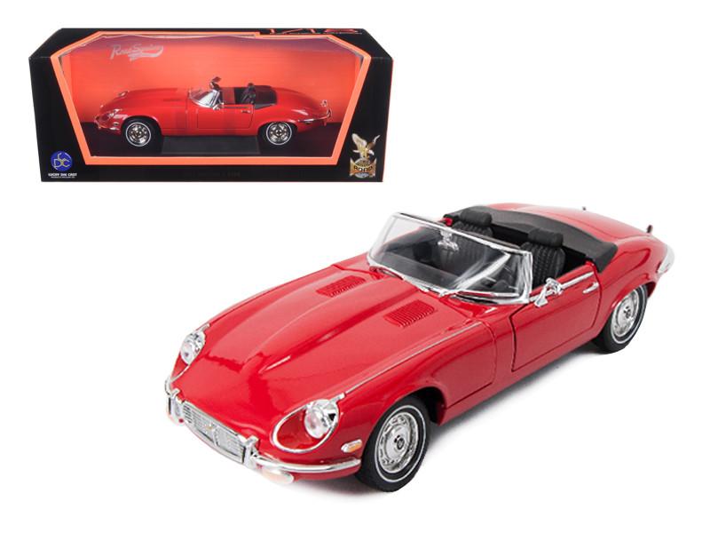 1971 Jaguar E Type Red 1/18 Diecast Model Car Road Signature 92608