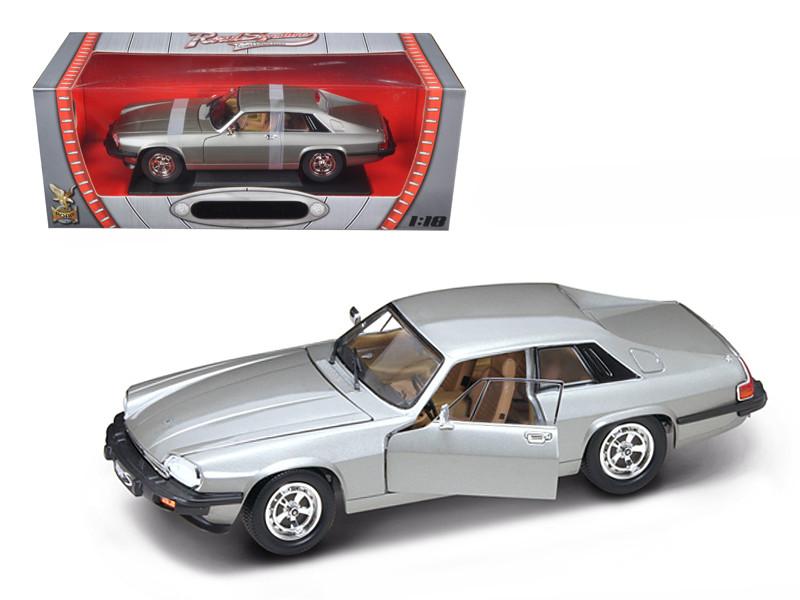 1975 Jaguar XJS Coupe Silver 1/18 Diecast Car Model Road Signature 92658