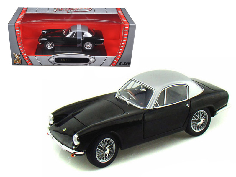 1960 Lotus Elite Black 1/18 Diecast Model Car Road Signature 92768