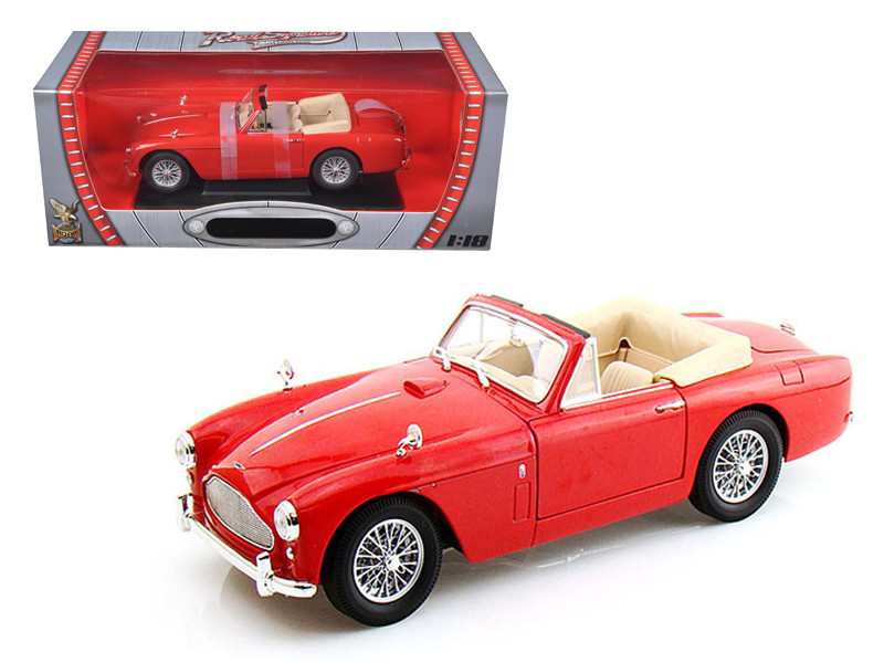 1958 Aston Martin DB-2 Mark 3 Red 1/18 Diecast Car Model Road Signature 92788