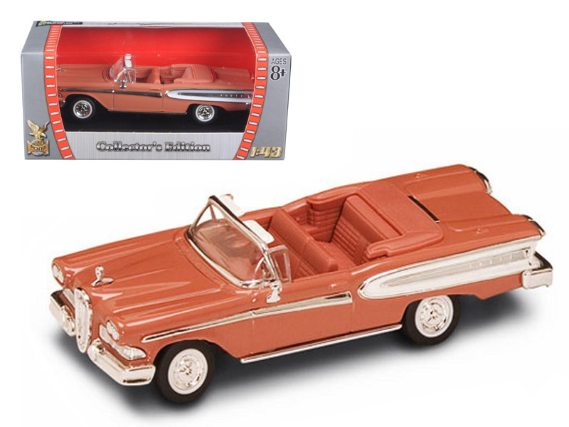 1958 Edsel Citation Brown 1/43 Diecast Car Road Signature 94222