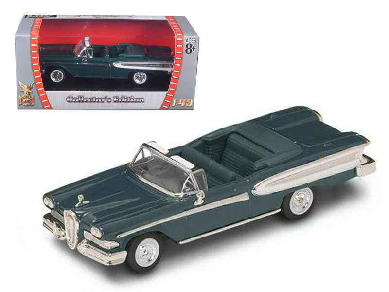 1958 Edsel Citation Green 1/43 Diecast Car Road Signature 94222