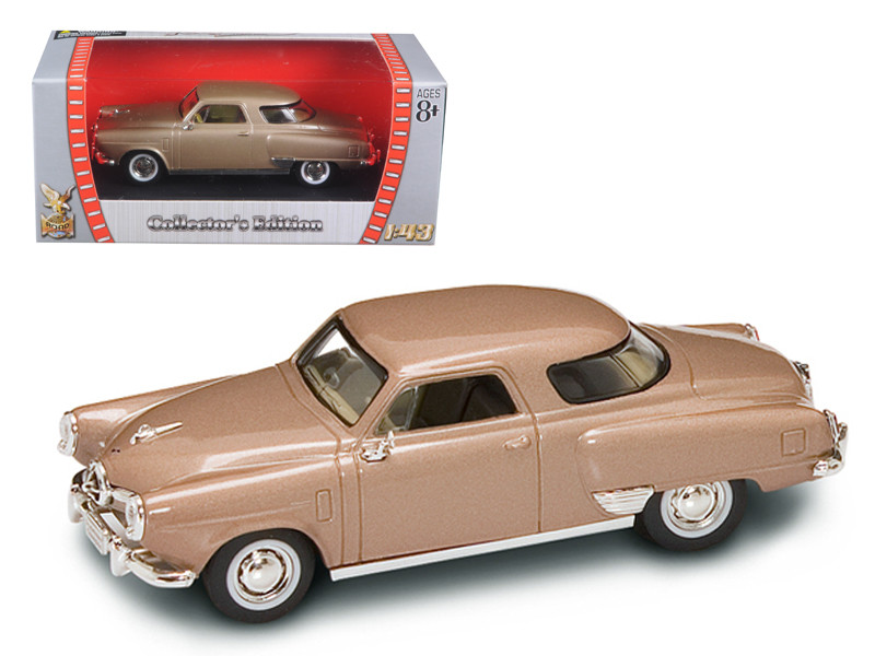 1950 Studebaker Champion Golden Tan 1/43 Diecast Car Model Road Signature 94249