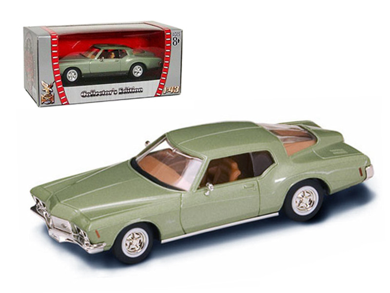 1971 Buick Riviera GS Green 1/43 Diecast Car Model Road Signature 94252