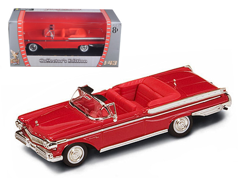 1957 Mercury Turnpike Cruiser Red 1/43 Diecast Car Model by Road Signature