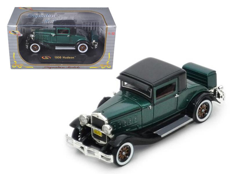 1930 Hudson Great Eight Green 1/32 Diecast Car Model Signature Models 32307