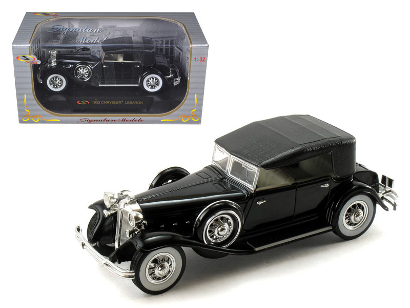 1932 Chrysler Lebaron Black 1/32 Diecast Car Model Signature Models 32316