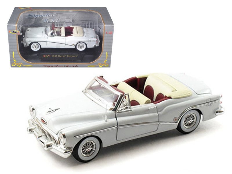 1953 Buick Skylark White 1/32 Diecast Model Car Signature Models 32321