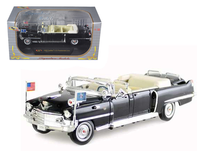 1956 Cadillac Presidential Limousine 1/32 Diecast Car Model Signature Models 32356